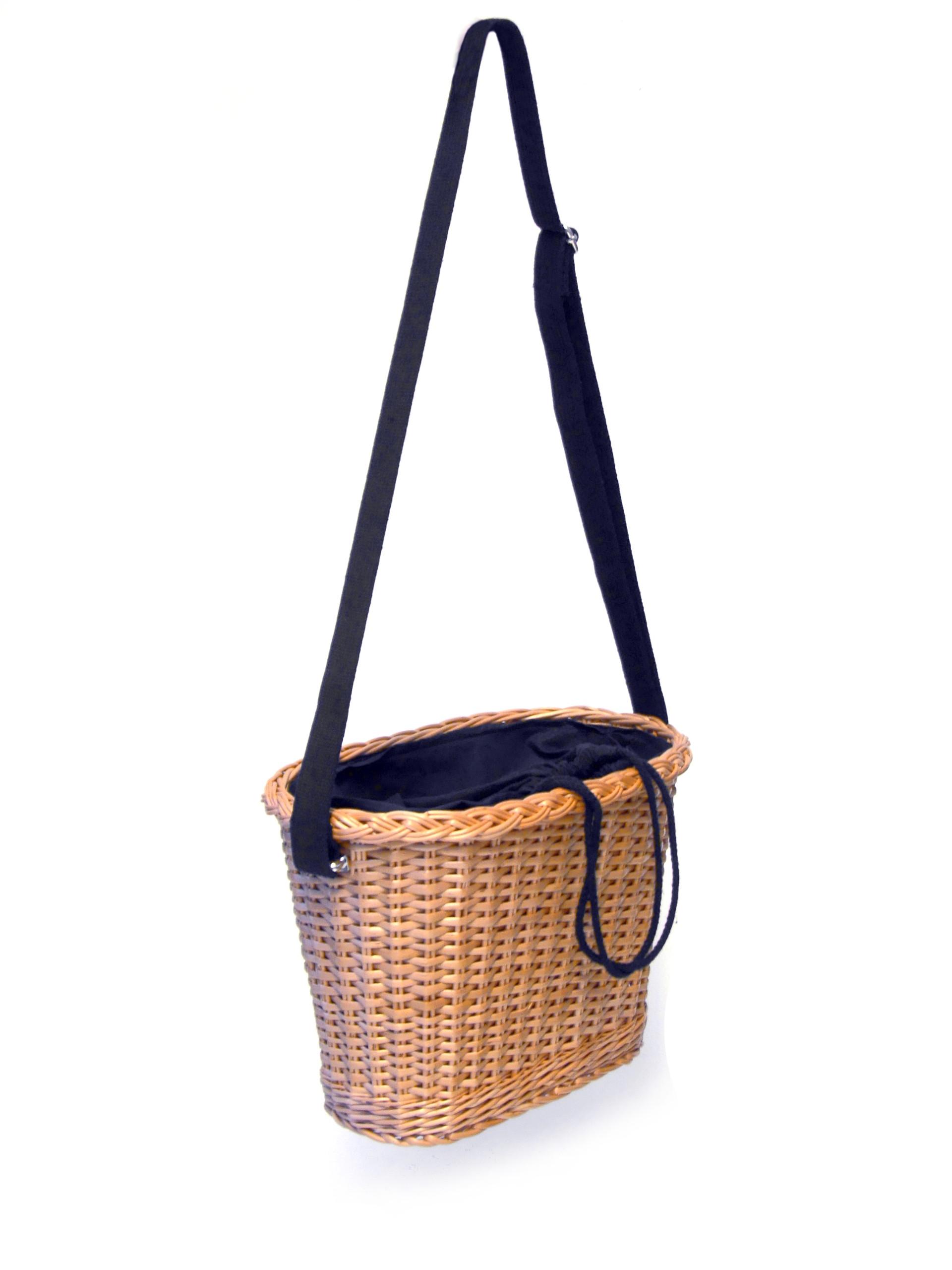koszyk torebka prosty pasek
